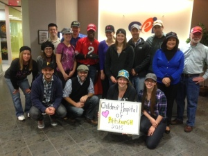 Hat Day for the Childrens Hospital.